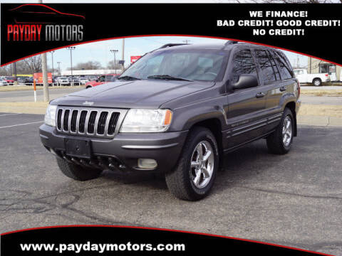 2003 Jeep Grand Cherokee for sale at Payday Motors in Wichita And Topeka KS