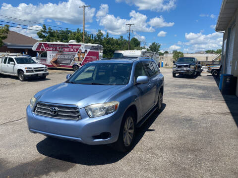 2008 Toyota Highlander Hybrid for sale at Newport Auto Group in Austintown OH