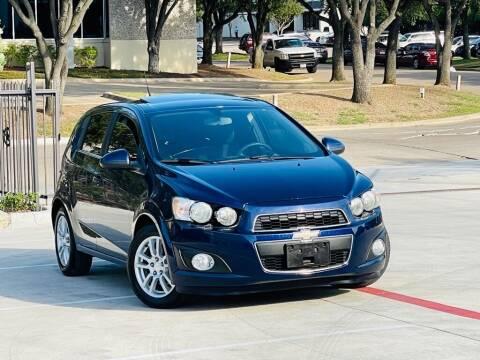 2014 Chevrolet Sonic for sale at Texas Drive Auto in Dallas TX