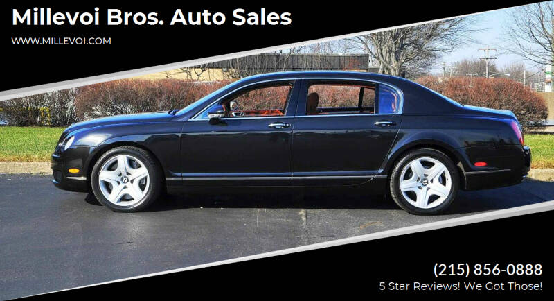 2006 Bentley Continental for sale at Millevoi Bros. Auto Sales in Philadelphia PA