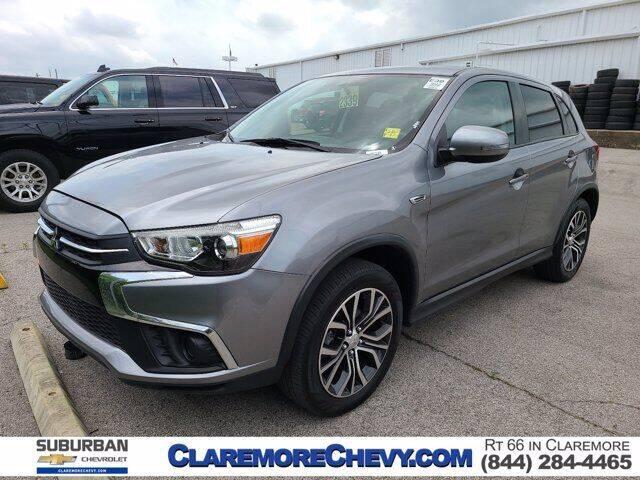2019 Mitsubishi Outlander Sport for sale at Suburban Chevrolet in Claremore OK