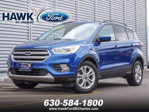 2019 Ford Escape for sale at Hawk Ford of St. Charles in Saint Charles IL