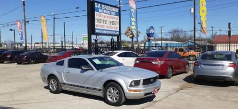 2007 Ford Mustang for sale at S.A. BROADWAY MOTORS INC in San Antonio TX