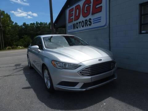 2018 Ford Fusion for sale at Edge Motors in Mooresville NC