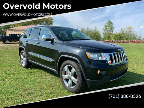 2011 Jeep Grand Cherokee for sale at Overvold Motors in Detriot Lakes MN