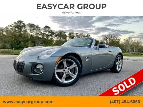 2007 Pontiac Solstice for sale at EASYCAR GROUP in Orlando FL