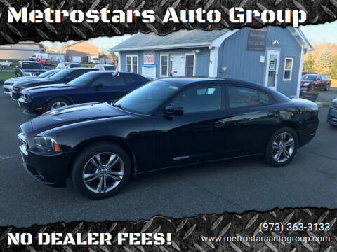 2013 Dodge Charger for sale at Metrostars Auto Group in Hamburg NJ