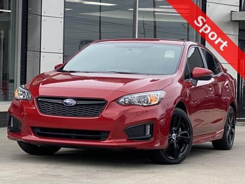 2018 Subaru Impreza for sale at Carmel Motors in Indianapolis IN
