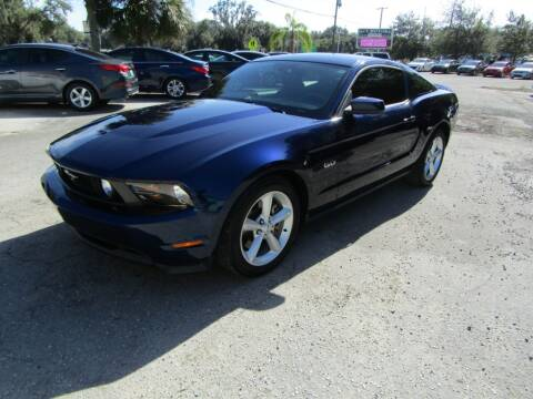 2011 Ford Mustang for sale at S & T Motors in Hernando FL