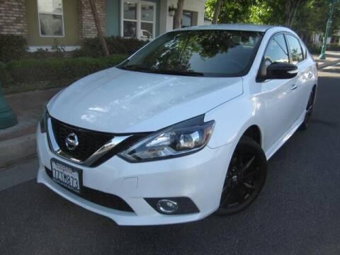 2017 Nissan Sentra for sale at PREFERRED MOTOR CARS in Covina CA