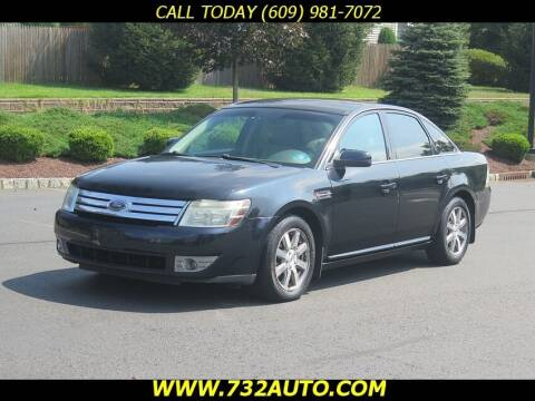 2008 Ford Taurus for sale at Absolute Auto Solutions in Hamilton NJ