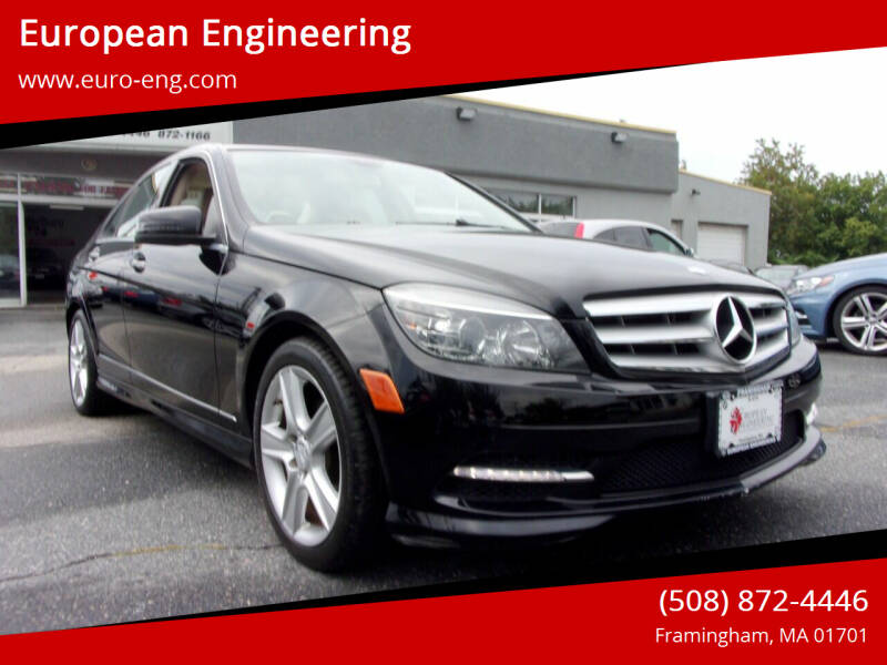 2011 Mercedes-Benz C-Class for sale at European Engineering in Framingham MA