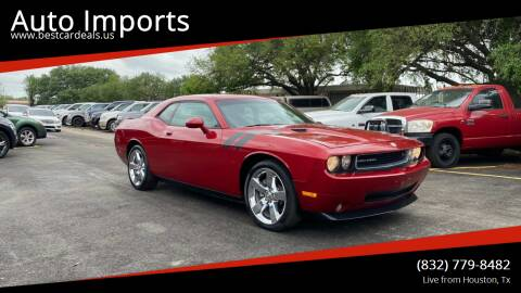2009 Dodge Challenger for sale at Auto Imports in Houston TX