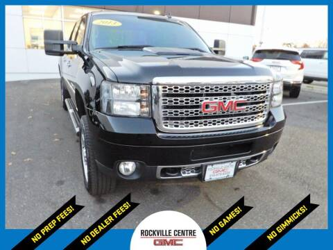 2013 GMC Sierra 2500HD for sale at Rockville Centre GMC in Rockville Centre NY