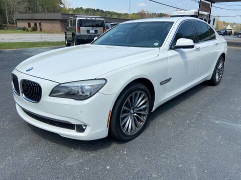 2012 BMW 7 Series for sale at Luxury Auto Innovations in Flowery Branch GA