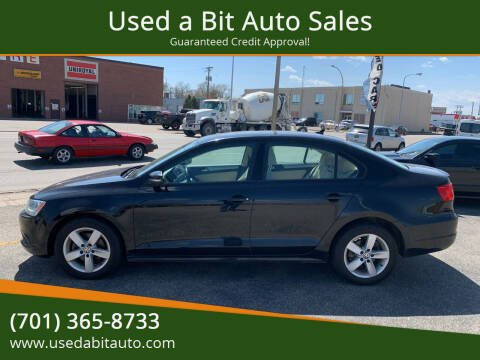 2012 Volkswagen Jetta for sale at Used a Bit Auto Sales in Fargo ND