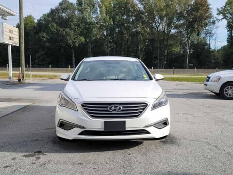 2015 Hyundai Sonata for sale at 5 Starr Auto in Conyers GA