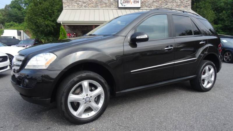 2008 Mercedes-Benz M-Class for sale at Driven Pre-Owned in Lenoir NC