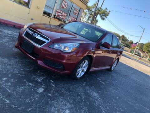 2013 Subaru Legacy for sale at BSS AUTO SALES INC in Eustis FL