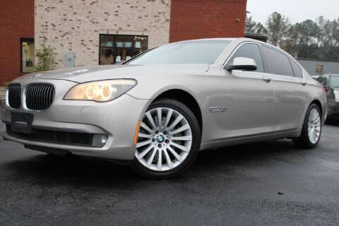 2012 BMW 7 Series for sale at Atlanta Unique Auto Sales in Norcross GA