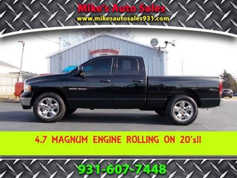 2005 Dodge Ram Pickup 1500 for sale at Mike's Auto Sales in Shelbyville TN
