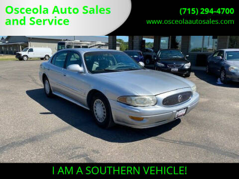 2003 Buick LeSabre for sale at Osceola Auto Sales and Service in Osceola WI