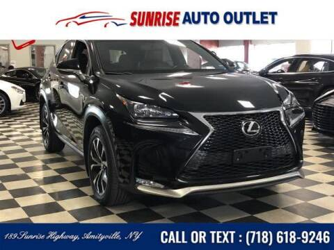 2016 Lexus NX 200t for sale at Sunrise Auto Outlet in Amityville NY