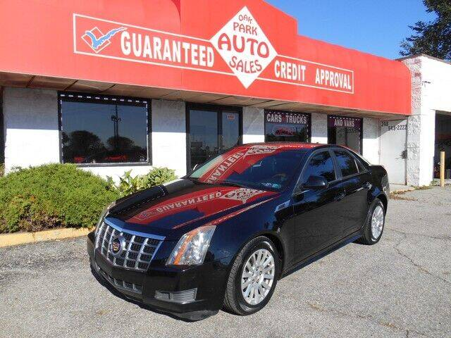 2012 Cadillac CTS for sale at Oak Park Auto Sales in Oak Park MI
