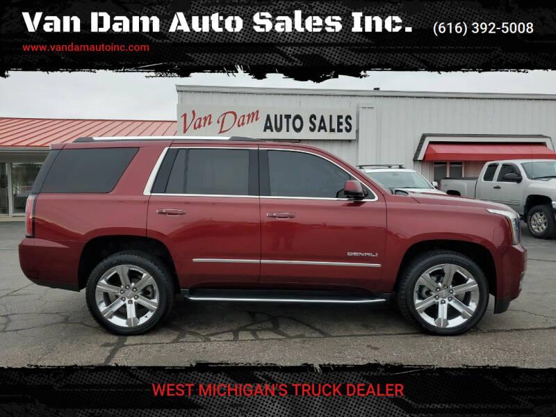 2019 GMC Yukon for sale at Van Dam Auto Sales Inc. in Holland MI