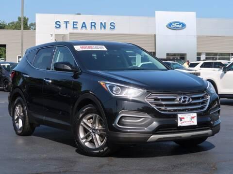 2018 Hyundai Santa Fe Sport for sale at Stearns Ford in Burlington NC