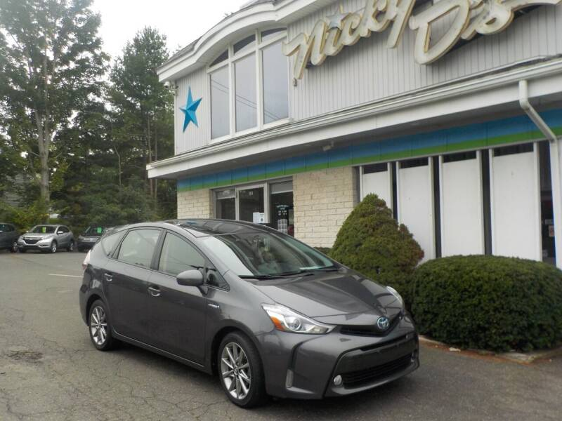 2016 Toyota Prius v for sale at Nicky D's in Easthampton MA