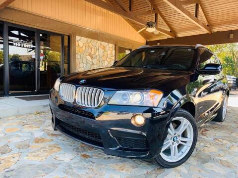 2013 BMW X3 for sale at Classic Luxury Motors in Buford GA