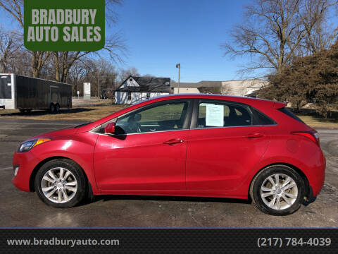 2014 Hyundai Elantra GT for sale at BRADBURY AUTO SALES in Gibson City IL