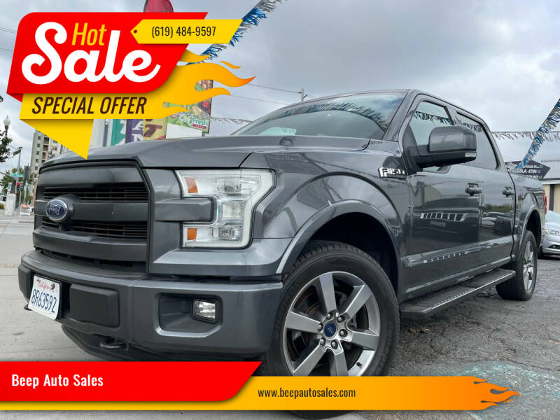 2015 Ford F-150 for sale at Beep Auto Sales in National City CA