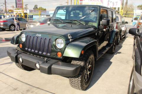 2010 Jeep Wrangler Unlimited for sale at Good Vibes Auto Sales in North Hollywood CA