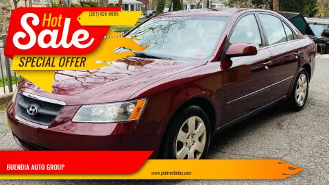 2007 Hyundai Sonata for sale at BUENDIA AUTO GROUP in Hasbrouck Heights NJ