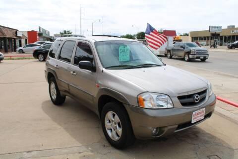 2002 Mazda Tribute for sale at KD Motors in Lubbock TX