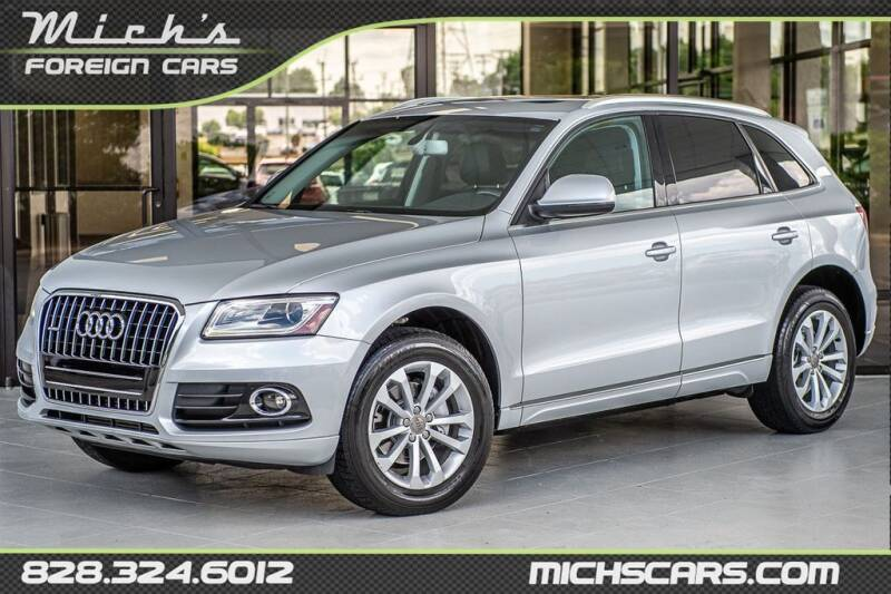 2014 Audi Q5 for sale at Mich's Foreign Cars in Hickory NC