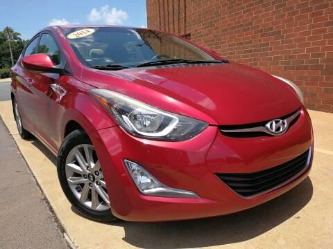 2014 Hyundai Elantra for sale at city motors nc 1 in Harrisburg NC