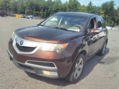 2010 Acura MDX for sale at Plymouthe Motors in Leominster MA