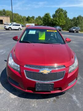 2011 Chevrolet Cruze for sale at INTEGRITY AUTO SALES in Clarksville TN
