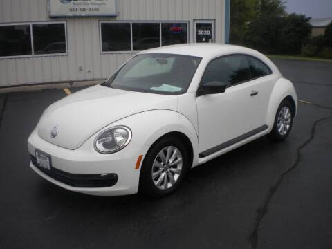 2013 Volkswagen Beetle for sale at AUTO MART in Oshkosh WI
