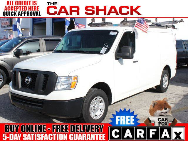 2018 Nissan NV Cargo for sale at The Car Shack in Hialeah FL