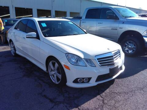 2010 Mercedes-Benz E-Class for sale at MOUNT EDEN MOTORS INC in Bronx NY