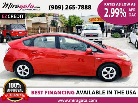 2014 Toyota Prius for sale at Miragata Auto in Bloomington CA