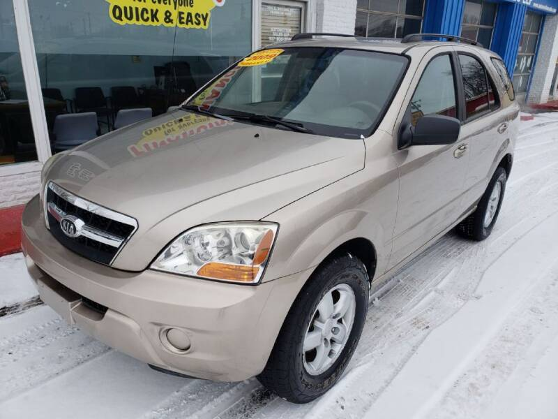 2009 Kia Sorento for sale at AutoMotion Sales in Franklin OH