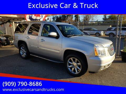 2011 GMC Yukon for sale at Exclusive Car & Truck in Yucaipa CA