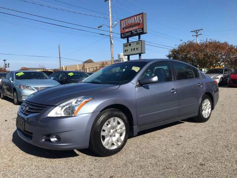 2010 Nissan Altima for sale at Autohaus of Greensboro in Greensboro NC