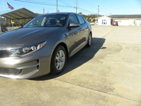 2018 Kia Optima for sale at VANN'S AUTO MART in Jesup GA