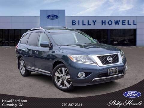 2015 Nissan Pathfinder for sale at BILLY HOWELL FORD LINCOLN in Cumming GA